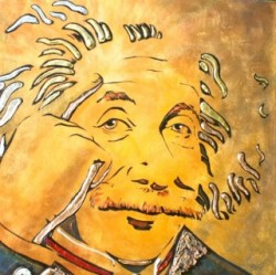 """Think"" - Einstein by Mimi Stuart ©"