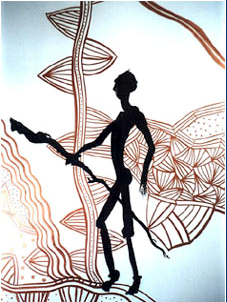 """Aborigine"" by Mimi Stuart © Live the Life you Desire"