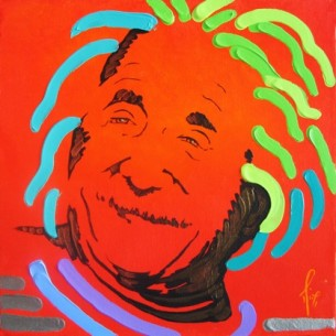 """""""Wisdom of Laughter"""" — Einstein by Mimi Stuart © Live the Life you Desire"""