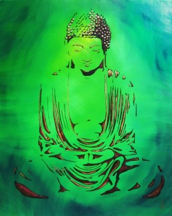 """Peace - Buddha"" by Mimi Stuart © Live the Life you Desire"